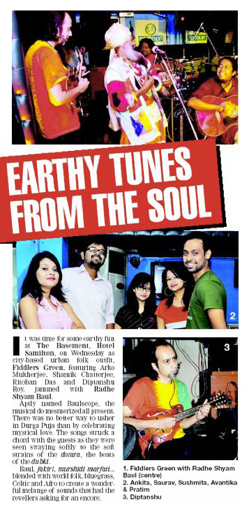 TOI - Basement Wednesday 17th October